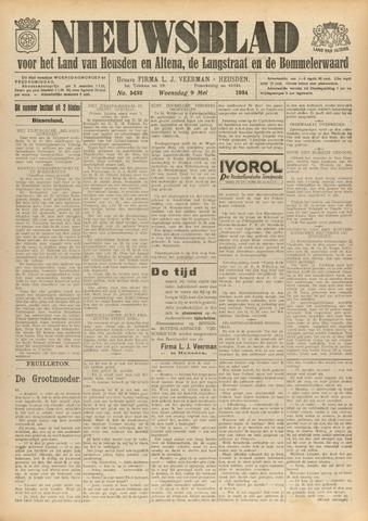 Nieuwsblad het land van Heusden en Altena de Langstraat en de Bommelerwaard 1934-05-09