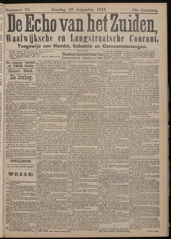 Echo van het Zuiden 1915-08-29