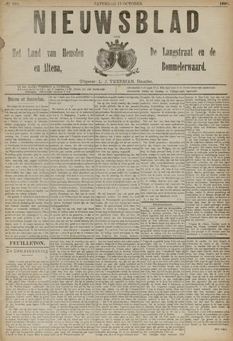 Nieuwsblad het land van Heusden en Altena de Langstraat en de Bommelerwaard 1890-10-11