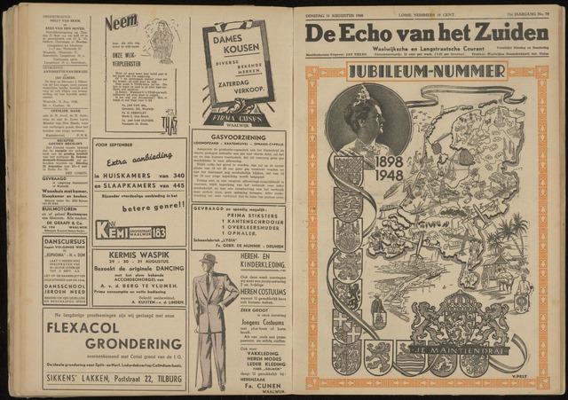 Echo van het Zuiden 1948-08-31
