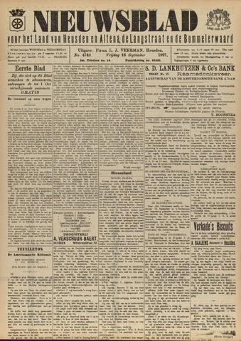 Nieuwsblad het land van Heusden en Altena de Langstraat en de Bommelerwaard 1927-09-16
