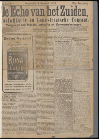 Echo van het Zuiden 1913-01-01