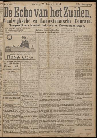 Echo van het Zuiden 1914-01-25