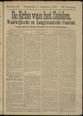 Echo van het Zuiden 1895-08-08