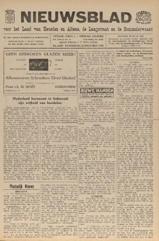 Nieuwsblad het land van Heusden en Altena de Langstraat en de Bommelerwaard 1948-12-23