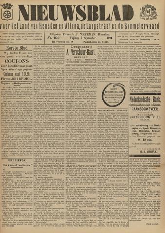 Nieuwsblad het land van Heusden en Altena de Langstraat en de Bommelerwaard 1924-09-05