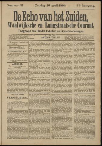 Echo van het Zuiden 1899-04-16