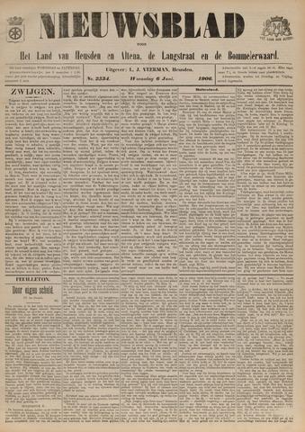 Nieuwsblad het land van Heusden en Altena de Langstraat en de Bommelerwaard 1906-06-06