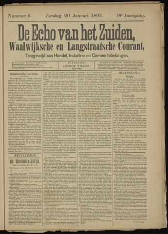 Echo van het Zuiden 1895-01-20