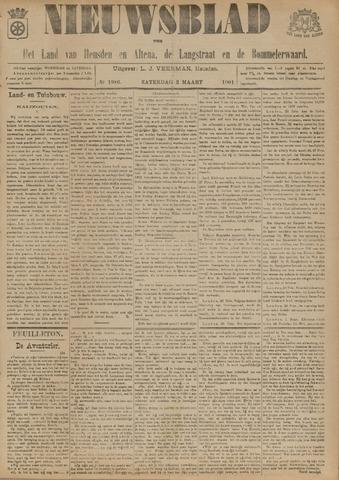 Nieuwsblad het land van Heusden en Altena de Langstraat en de Bommelerwaard 1901-03-02