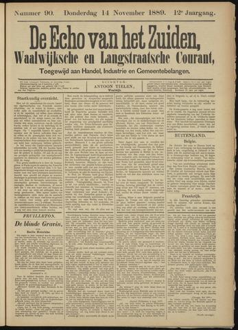 Echo van het Zuiden 1889-11-14