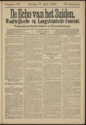 Echo van het Zuiden 1890-04-13