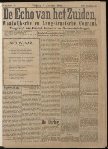 Echo van het Zuiden 1915-01-01