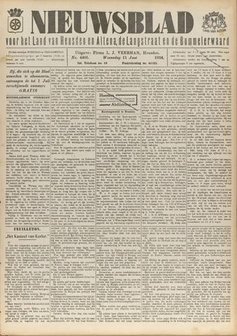Nieuwsblad het land van Heusden en Altena de Langstraat en de Bommelerwaard 1924-06-11
