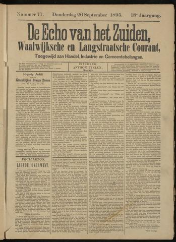 Echo van het Zuiden 1895-09-26