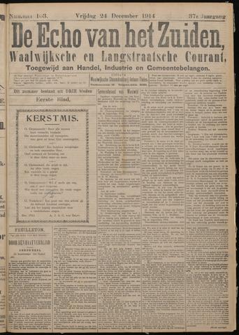 Echo van het Zuiden 1914-12-25