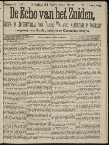 Echo van het Zuiden 1878-11-24
