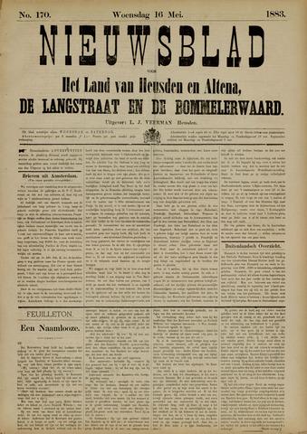 Nieuwsblad het land van Heusden en Altena de Langstraat en de Bommelerwaard 1883-05-16