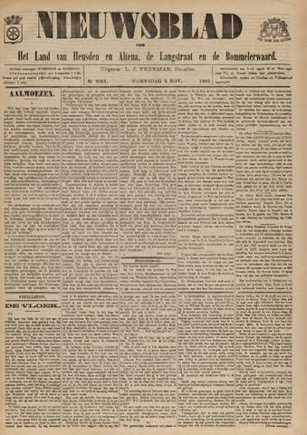 Nieuwsblad het land van Heusden en Altena de Langstraat en de Bommelerwaard 1902-11-05