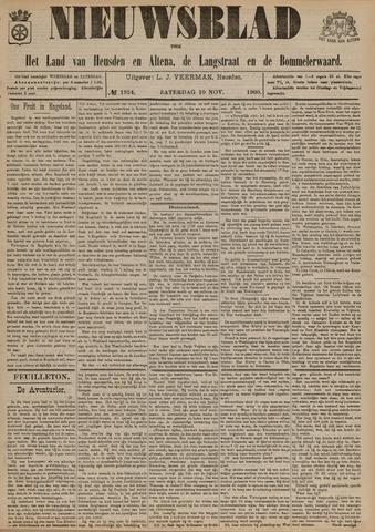 Nieuwsblad het land van Heusden en Altena de Langstraat en de Bommelerwaard 1900-11-10