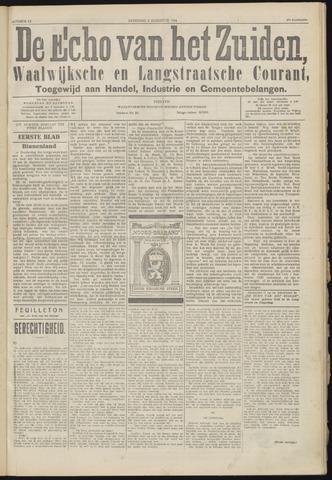 Echo van het Zuiden 1924-08-06