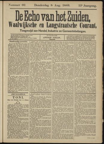 Echo van het Zuiden 1889-08-08
