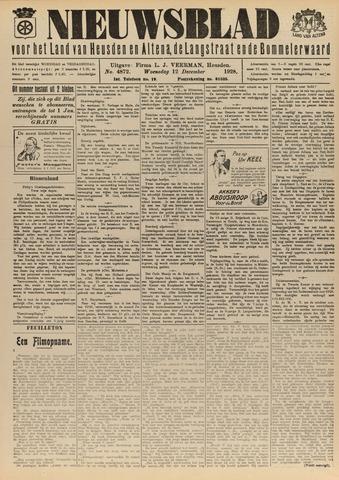 Nieuwsblad het land van Heusden en Altena de Langstraat en de Bommelerwaard 1928-12-12