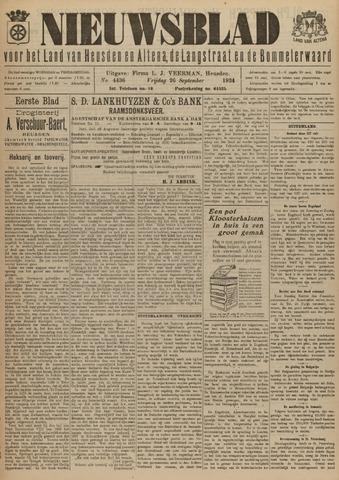 Nieuwsblad het land van Heusden en Altena de Langstraat en de Bommelerwaard 1924-09-26