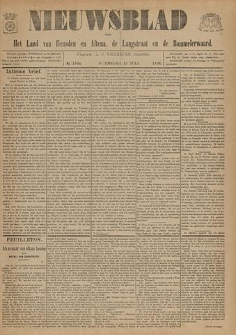 Nieuwsblad het land van Heusden en Altena de Langstraat en de Bommelerwaard 1896-07-15