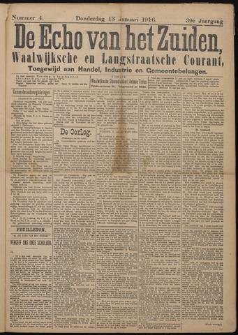 Echo van het Zuiden 1916-01-13