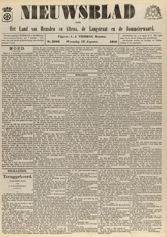 Nieuwsblad het land van Heusden en Altena de Langstraat en de Bommelerwaard 1913-08-13