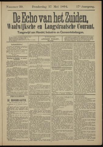 Echo van het Zuiden 1894-05-17