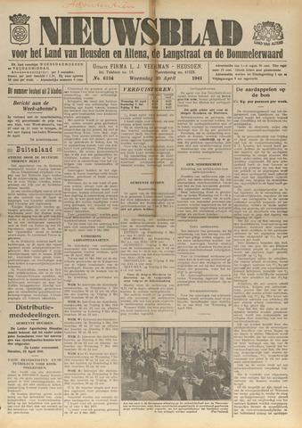 Nieuwsblad het land van Heusden en Altena de Langstraat en de Bommelerwaard 1941-04-30