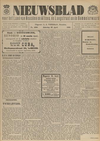 Nieuwsblad het land van Heusden en Altena de Langstraat en de Bommelerwaard 1921-04-23
