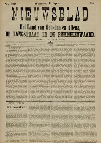 Nieuwsblad het land van Heusden en Altena de Langstraat en de Bommelerwaard 1883-04-11