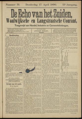 Echo van het Zuiden 1890-04-17
