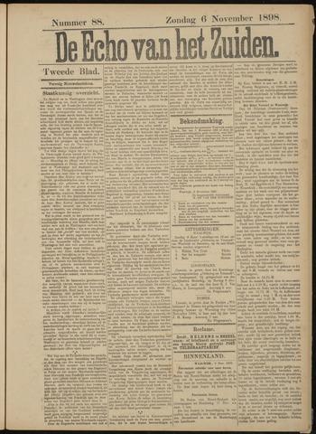 Echo van het Zuiden 1898-11-06