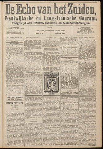 Echo van het Zuiden 1933-10-25