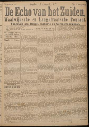 Echo van het Zuiden 1907-01-13