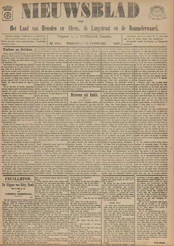 Nieuwsblad het land van Heusden en Altena de Langstraat en de Bommelerwaard 1897-02-24