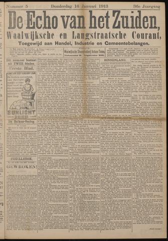 Echo van het Zuiden 1913-01-16