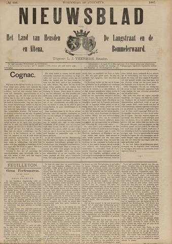 Nieuwsblad het land van Heusden en Altena de Langstraat en de Bommelerwaard 1887-08-10