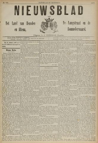 Nieuwsblad het land van Heusden en Altena de Langstraat en de Bommelerwaard 1890-12-20