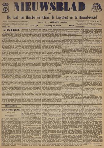 Nieuwsblad het land van Heusden en Altena de Langstraat en de Bommelerwaard 1908-03-18