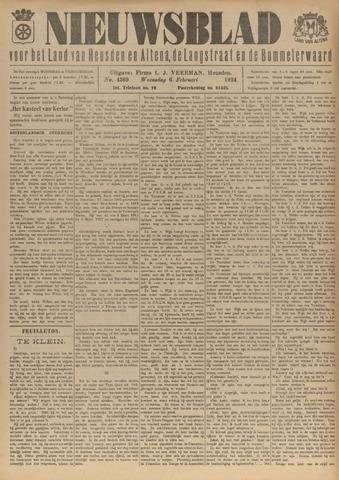 Nieuwsblad het land van Heusden en Altena de Langstraat en de Bommelerwaard 1924-02-06