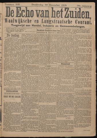 Echo van het Zuiden 1915-12-30