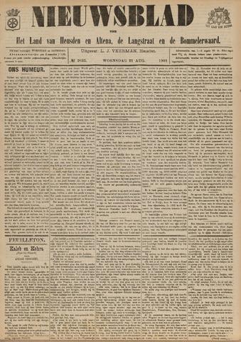 Nieuwsblad het land van Heusden en Altena de Langstraat en de Bommelerwaard 1901-08-21