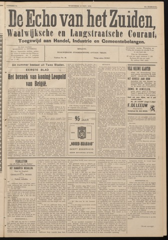Echo van het Zuiden 1938-11-23