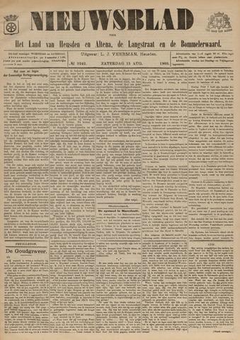 Nieuwsblad het land van Heusden en Altena de Langstraat en de Bommelerwaard 1903-08-15