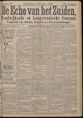 Echo van het Zuiden 1913-11-06